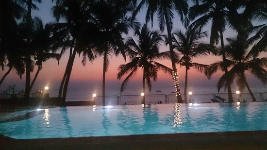 Bogmallo Beach Resort View From The Infinity Pool