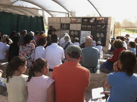 Temple Mount Sifting Project: Introduction presentation to visitors