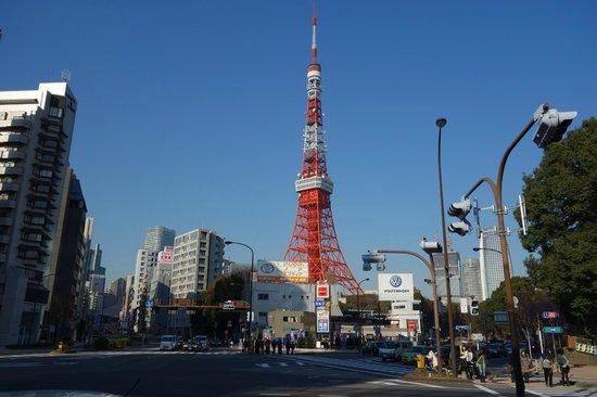 上からした - Foto van Tokyo Tower, Minato - TripAdvisor