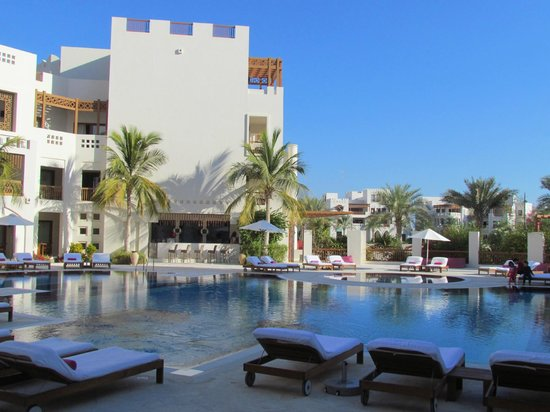 Sifawy Boutique Hotel: Zwembad