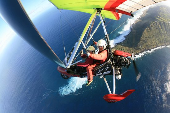 Paradise Air: me flying something was nerve racking at first, but denise calmed my fears