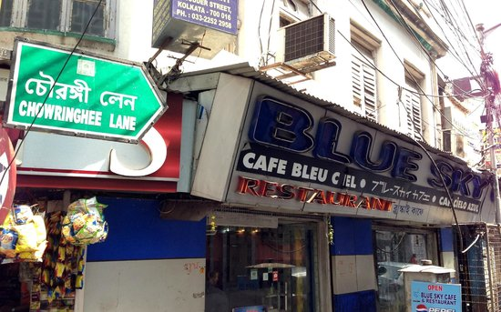Blue Sky Cafe: Welcome Sight in Chowringhee lane