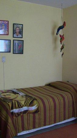 Casona Rosa, Morelia : small mini-room in the Frida Suite