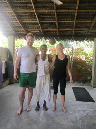 ... class discussion, Sept 2013 - Picture of Yoga with Asiri, Unawatuna