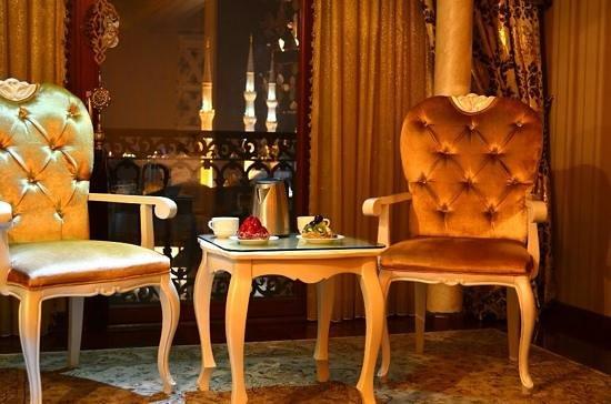 Deluxe Golden Horn Sultanahmet Hotel : шикарный номер с шикарным видом !!
