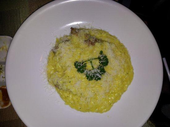 Prego Italian Restaurant : Risotto - very good