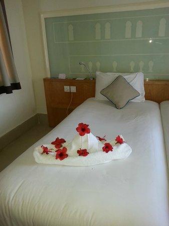 Mercure Hurghada Hotel: в номере после уборки