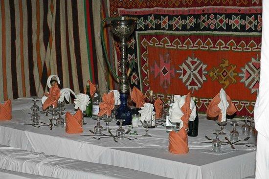 Aldiana Djerba Atlantide: Zelte beim Berberfest