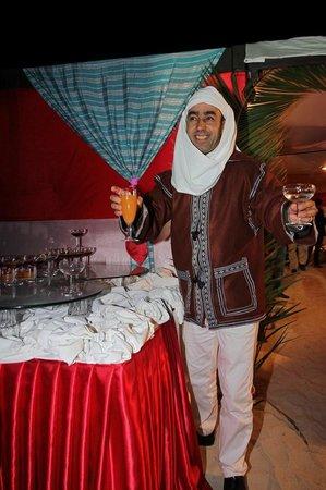 Aldiana Djerba Atlantide: Begrüßung beim Berberfest