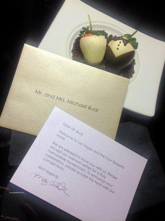 Four Seasons Hotel Las Vegas: So Sweet!