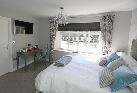 Recruiting Sergeant: B&B Bedroom with large flat screen TV