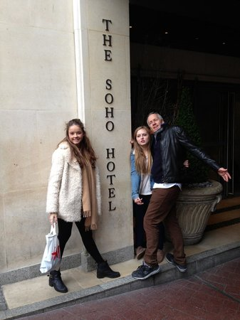 The Soho Hotel: Our sad departure! - Lottie and Sophia