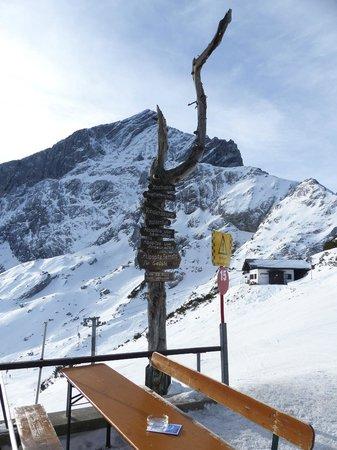 Garmisch-Partenkirchen Ski Resort : Alpspitze