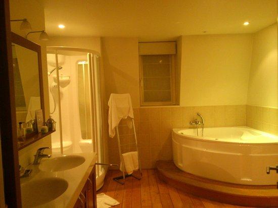 Villa des Raisins : Nuits Saint Georges -bathroom