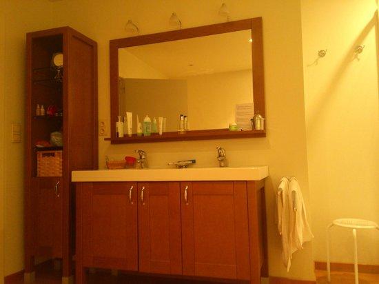 Villa des Raisins: Nuits Saint Georges -bathroom