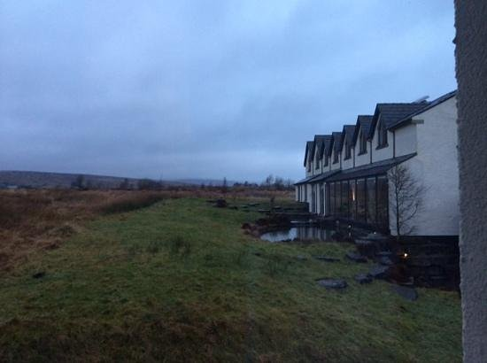 Tebay Services Hotel : view of the hotel from our room