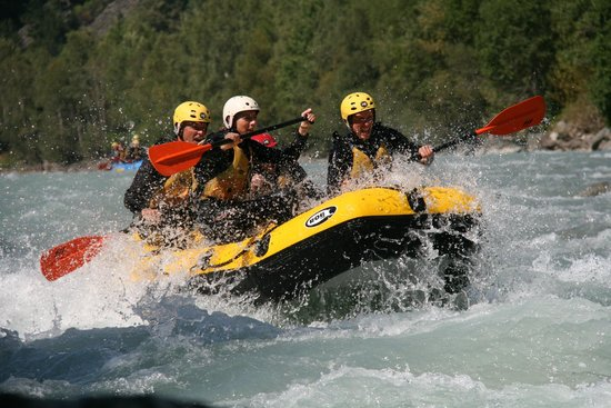 Matrei in Osttirol, Áustria: Rafting in Osttirol