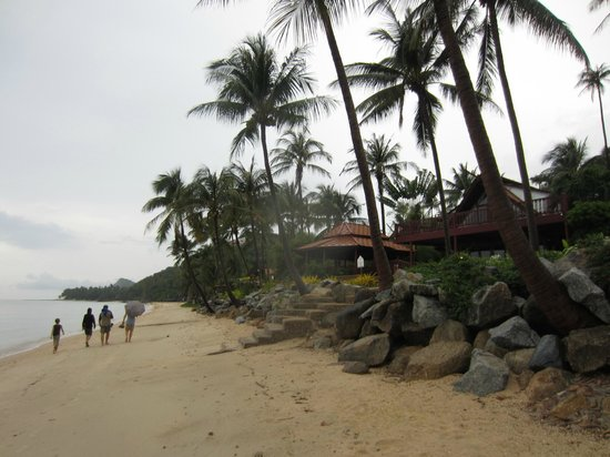 Bang Po Village: Am Strand