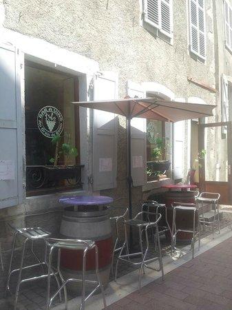 Au Grain de Raisin : 2e Terrasse - Quartier Historique