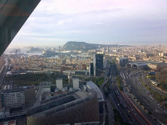 Hotel Arts Barcelona : Barcelona view 34th floor