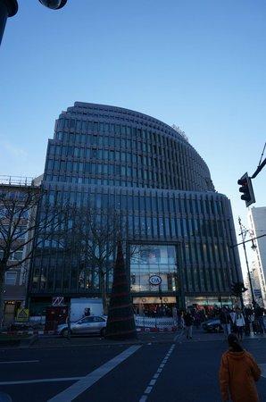 Swissotel Berlin : Das Swissotel von außen