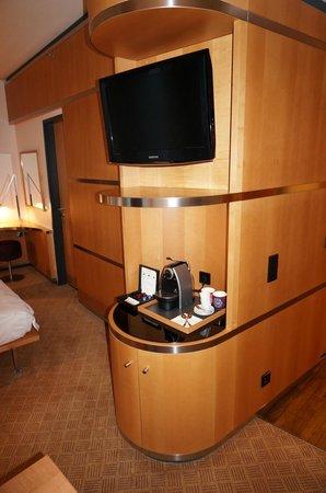 Swissotel Berlin : Unser Zimmer (Junior Suite)