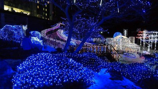 Toya Sunpalace Resort and Spa: Christmas Lights