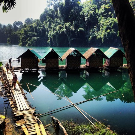 Ton Tuey Floating Raft Houses: View from the toilet