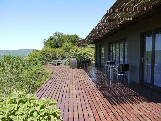 Hopewell Lodge : Unguni deck