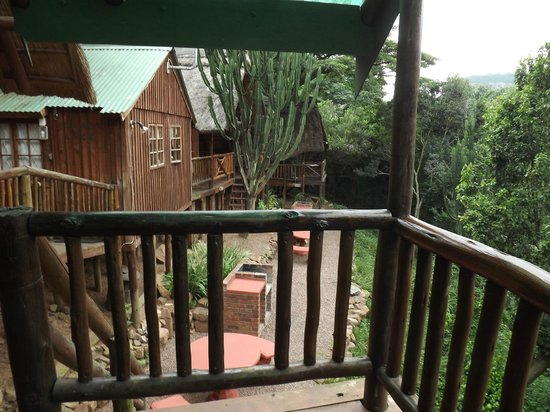 Tree House River Lodge : The other chalets next to ours