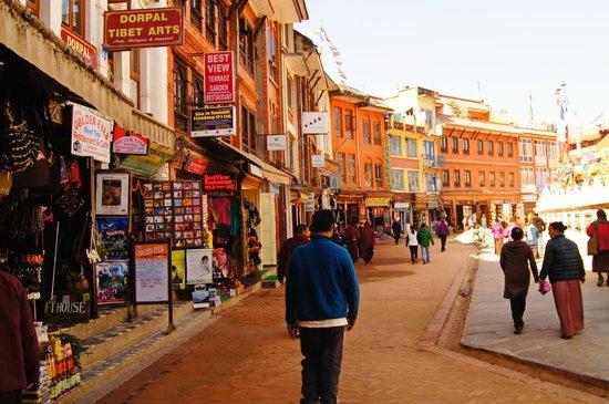 Stûpa de Bodnath : Shops Around