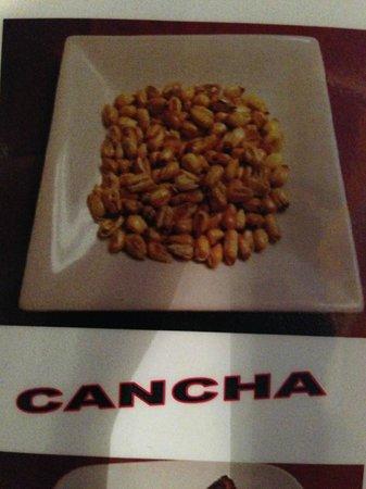 El Patio Restaurant: Cancha