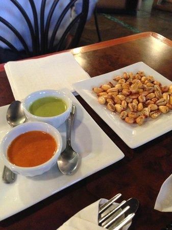El Patio Restaurant: Cancha And Sauces