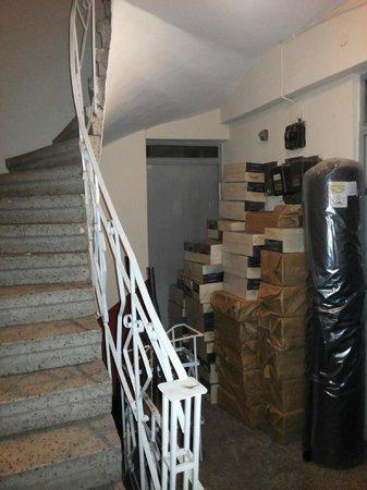 Blue Istanbul Hotel: Escalera de acceso a las suites