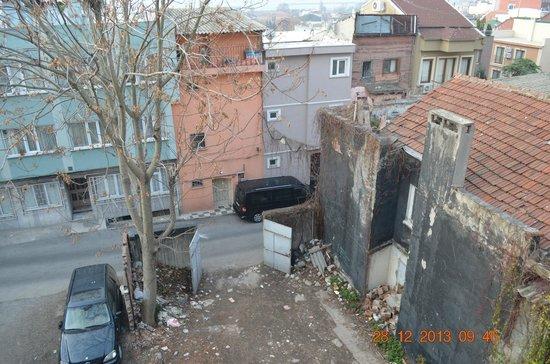 Blue Istanbul Hotel : Vista trasera de una de las suites