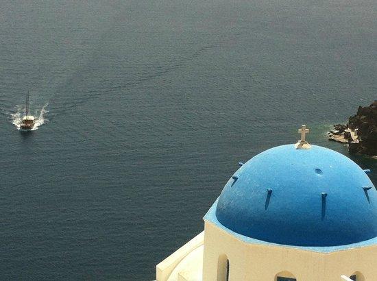 Artemis Villas : Santorini view