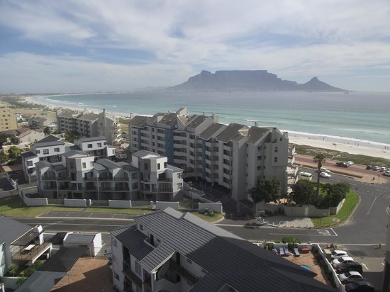 Aquarius Luxury Suites : View from balcony