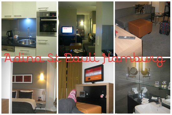 Adina Apartment Hotel Hamburg Michel: Hotel room