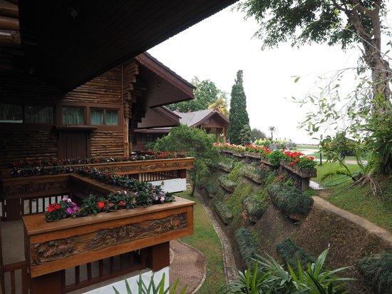 Doi Tung Royal Villa : Dettagli dello Châlet reale