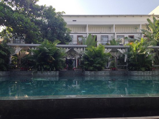 Plantation - urban resort & spa: View of rooms from pool lounge