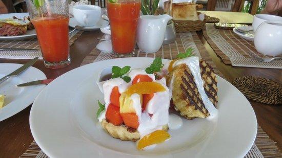 Buckingham Place : завтрак