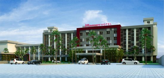 Mercure Palu: A newly built hotel with 5 storeys building