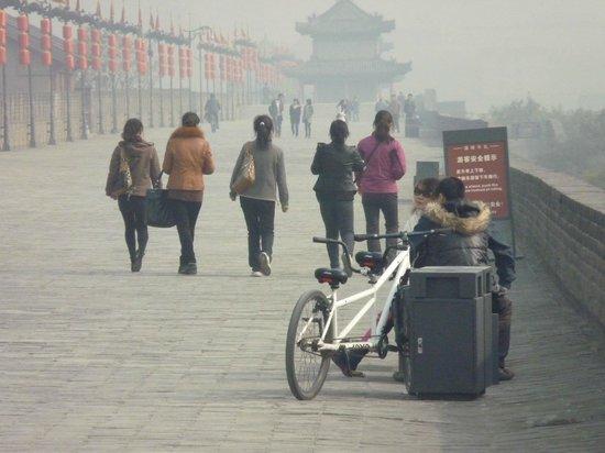 Xi'an City Wall (Chengqiang): Тандем