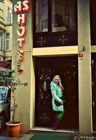 AS Hotel: Вход