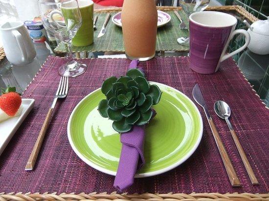 Casa Geranio: Frühstück