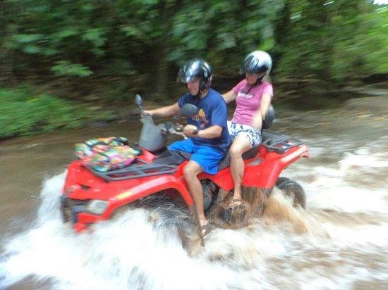 ATV Moorea Tours : Some fun spots to ride through....