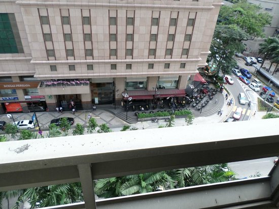 Crown Regency Serviced Suites: View from bedroom