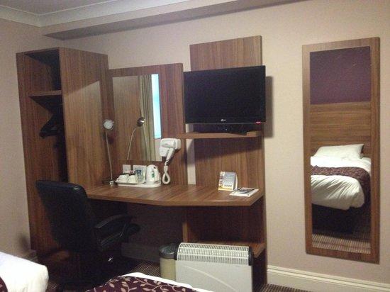 Comfort Inn Kings Cross : la chambre