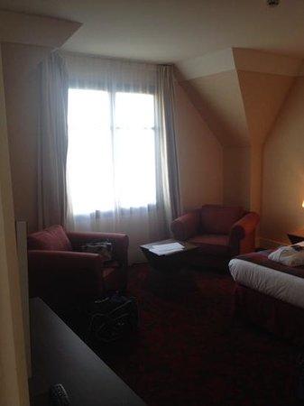 Radisson Blu Hotel at Disneyland Paris : The bedroom 1