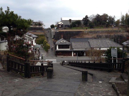 Kitsuki Castle Town: 趣ある坂道